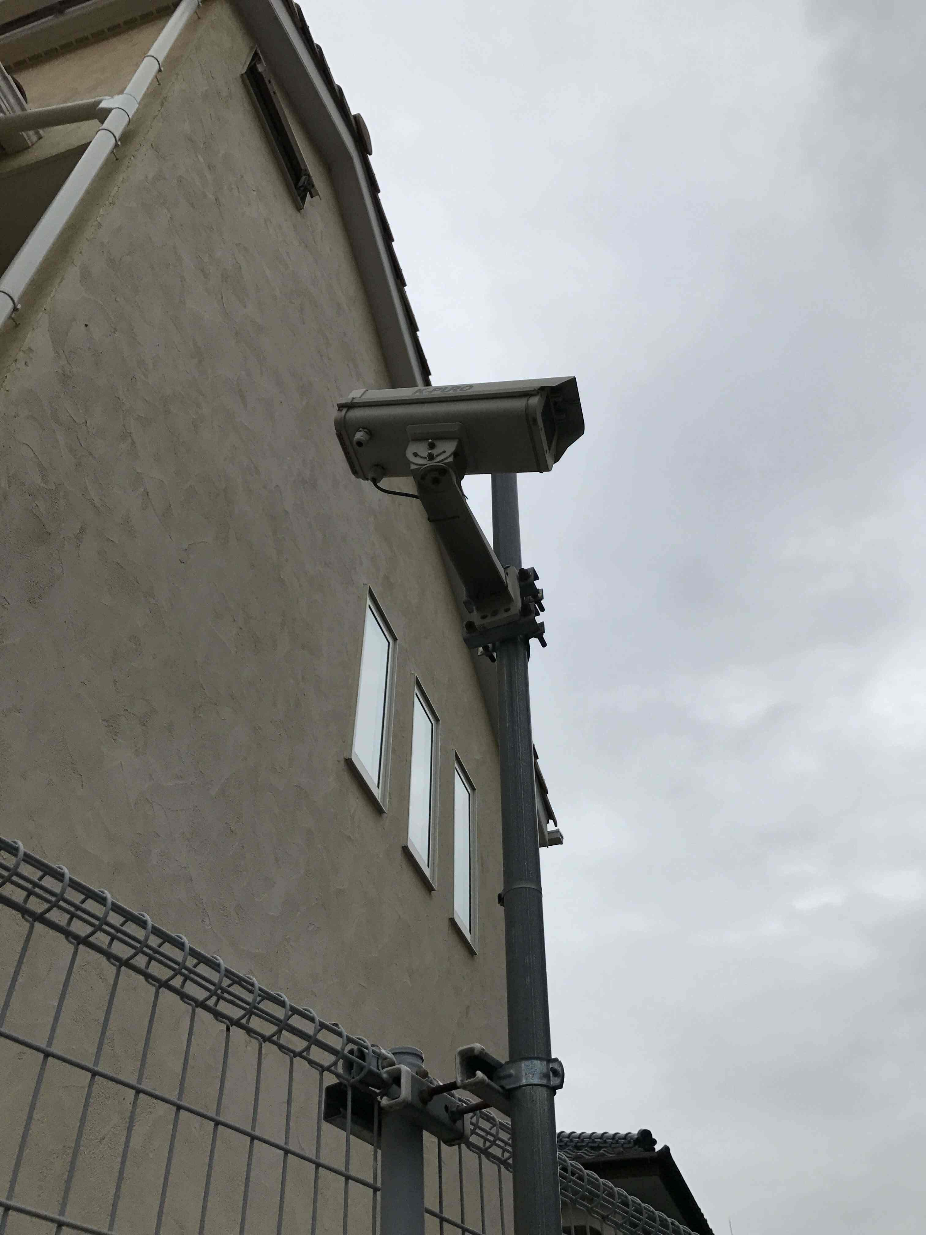 ビジネスホテル屋外ボックスカメラ