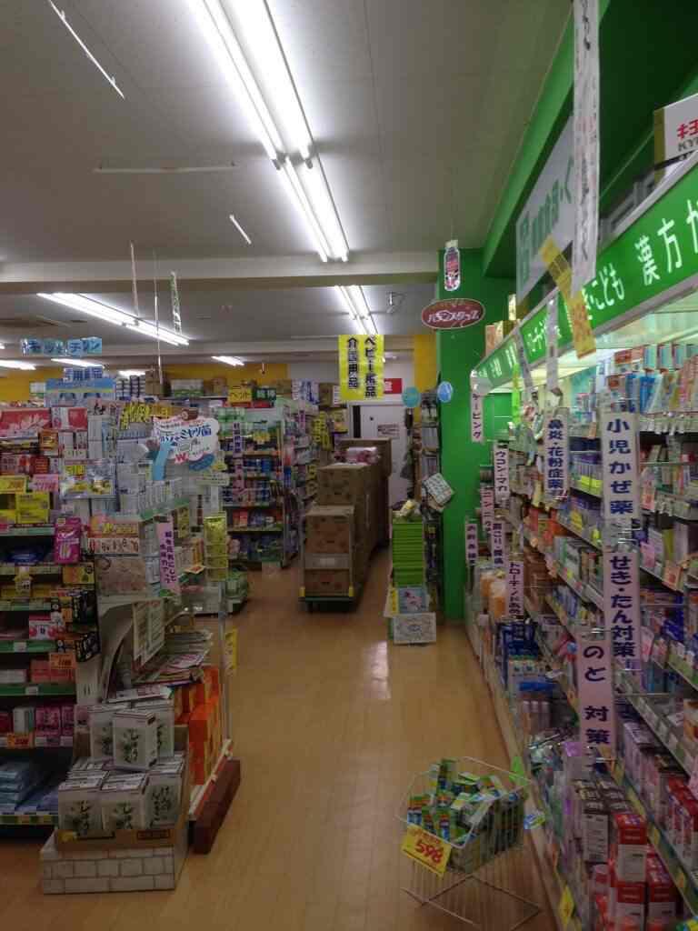 千葉県薬局店内