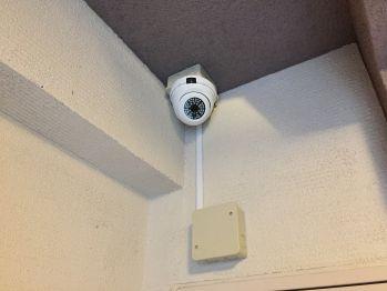 保育園に設置した防犯カメラ