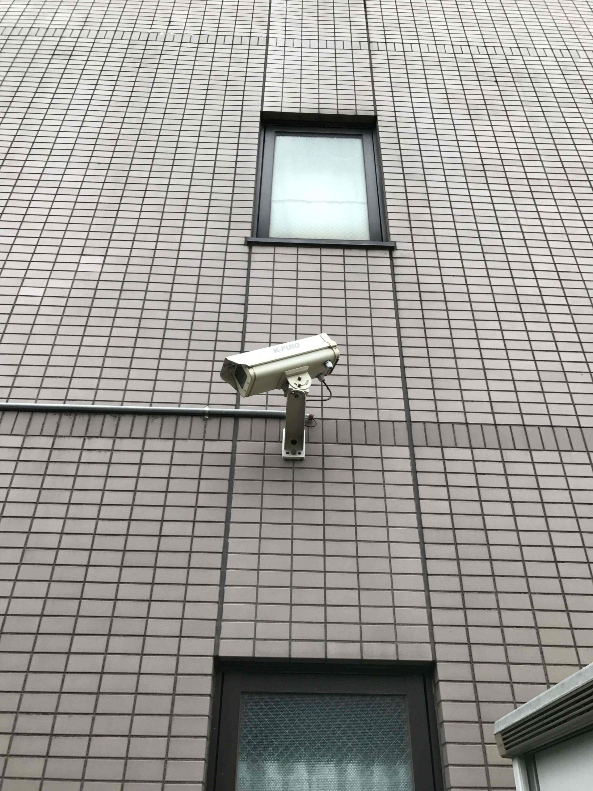 関東地区マンション防犯カメラ設置
