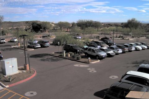 500万画素 駐車場