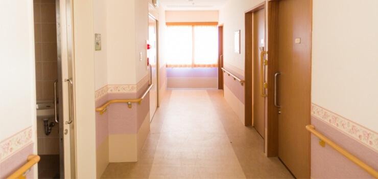 病院・老人ホームのカメラ設置例