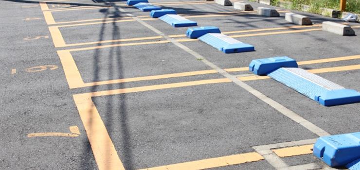 駐車場のカメラ設置例